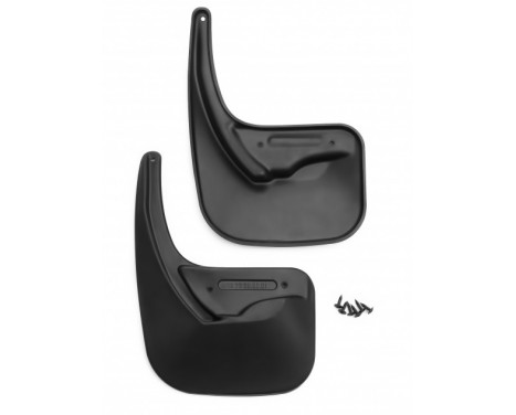 Mudguard set rear Citroën C4 2011-> 2 pieces