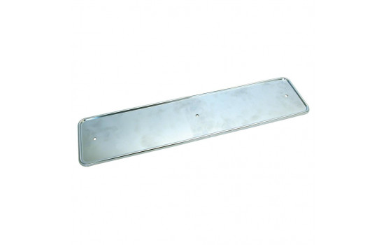 Badge plate 'Inox'