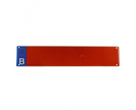 Number plate agriculture red, Image 2