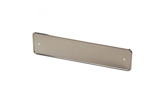 Stainless steel Number plate holder Chrome 52x11cm per piece