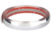 Chrome Trim Flat 35mm x 2.45mtr 3M Tape