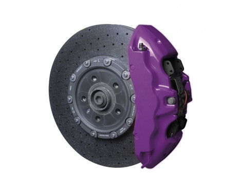 Foliatec Brake caliper paint set - deep violet - 7 pieces