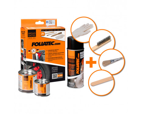 Foliatec Brake caliper paint set - GT blue - 7 pieces, Image 2