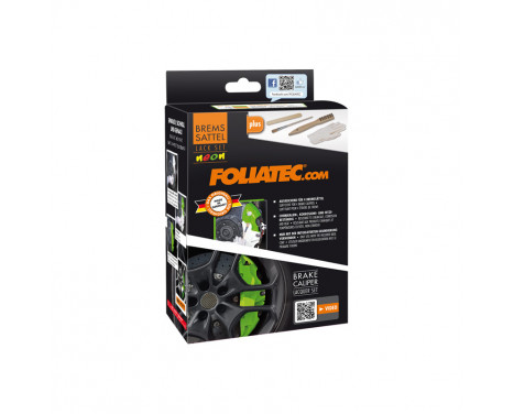 Foliatec Brake caliper paint set - NEON orange - 10 pieces, Image 3