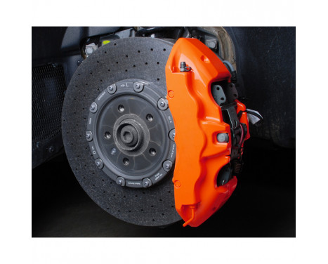 Foliatec Brake caliper paint set - NEON orange - 10 pieces, Image 8