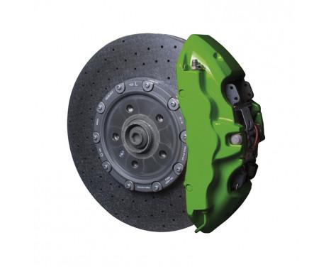 Foliatec Brake caliper paint set - power green - 7 pieces