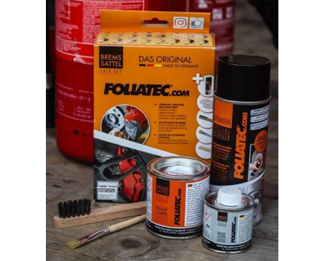 Foliatec Caliper Lacquer Set - Performance Red glossy - 7 pieces, Image 4