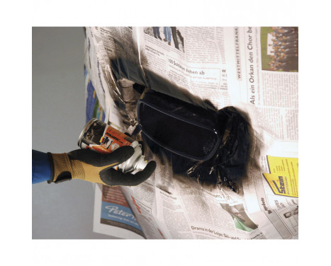 Foliatec Exhaust Pipe 2C Spray Paint - black glossy 1x250ml, Image 3
