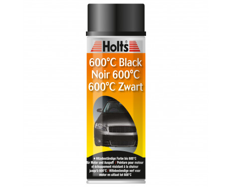 HOLTS heat resistant paint black 400ml