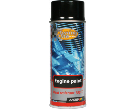 Motip Tuning-Line Heat resistant paint - black - 400ml