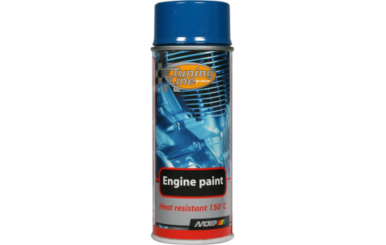Motip Tuning-Line Heat resistant paint - blue - 400ml
