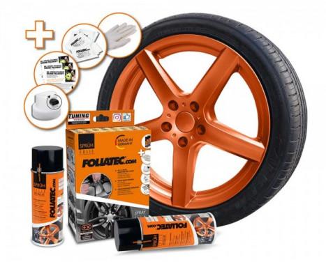 Foliatec Spray Film Set - copper metallic matt - 2x400ml