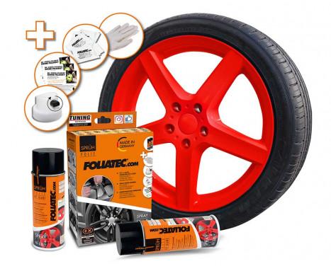 Foliatec Spray Film Set - red glossy - 2x400ml