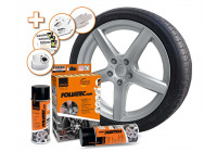 Foliatec Spray Film Set - silver metallic - 2x400ml
