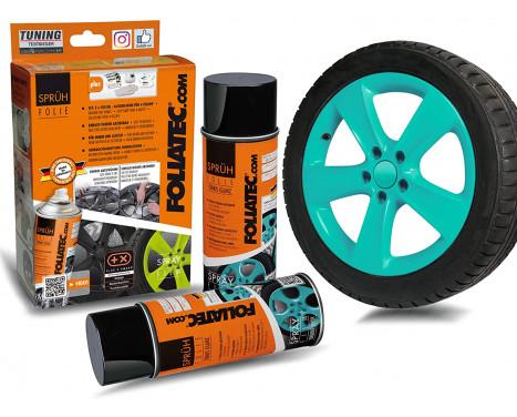 Foliatec Spray Film Set - turquoise glossy - 2x400ml