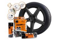 Foliatec Spray Film (Spray foil) Set - black matt - 2x400ml
