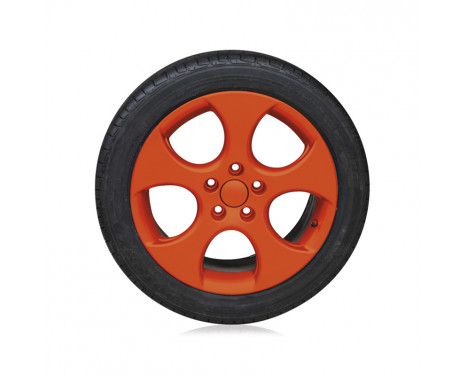 Foliatec Spray Film (Spray foil) Set - orange matt - 2x400ml, Image 4