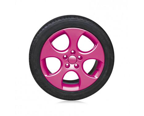 Foliatec Spray Film (Spray Foil) Set - pink glossy - 2x400ml, Image 3