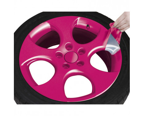 Foliatec Spray Film (Spray Foil) Set - pink glossy - 2x400ml, Image 5
