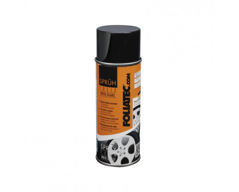 Foliatec Spray Film (Spray foil) - white glossy - 400ml