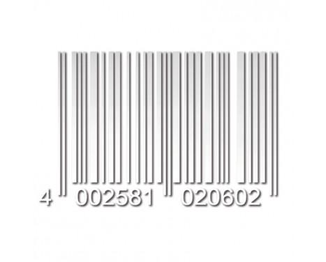 Foliatec Cardesign Sticker - Code - white matt - 37x24cm
