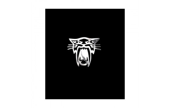 Nickel Sticker 'Tiger' - 60x55mm