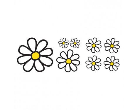 Simoni Racing Sticker Sheet - 8 Daisies