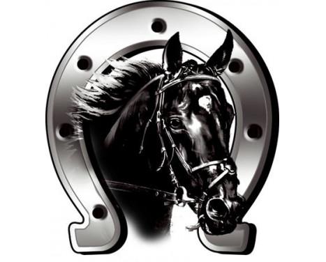 Sticker Horse + Horseshoe - 6x7cm