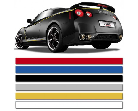 Universal self-adhesive striping AutoStripe Cool200 - White - 6 mm x 975 cm, Image 2
