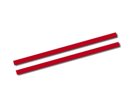 Universal self-adhesive striping AutoStripe Cool270 - Red - 2 + 2mm x 975cm