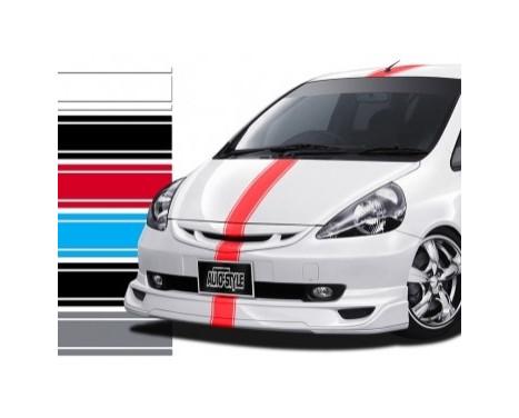 Universal self-adhesive striping RacingStripe 150 - Blue - 20 + 90 + 20mm x 5mtr