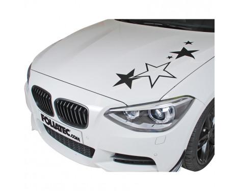 Foliatec Cardesign Sticker - Stars - black matt - 63x39cm, Image 3