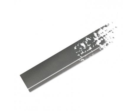 Foliatec Cardesign Sticker - Stripes - graphite 22x150cm - 2 pieces