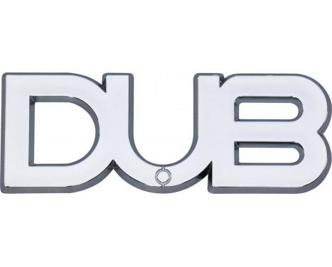 Logo DUB 104x36mm - self-adhesive