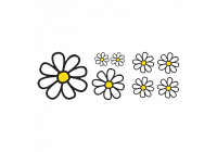 Simoni Racing Sticker Sheet - 8 Daisies
