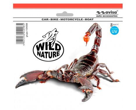 Sticker Scorpion - High Quality - 18.5x14cm