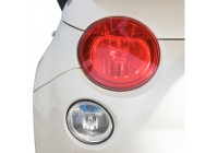 Simoni Racing Headlight / rear light foil - Red - 60x100 cm
