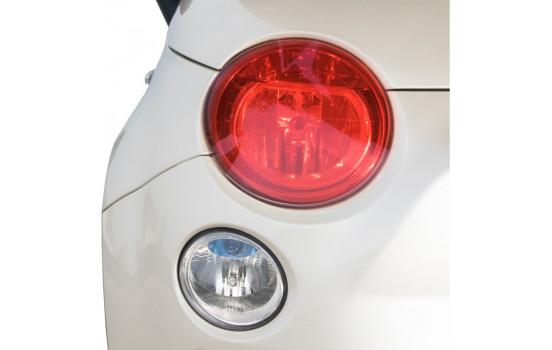 Simoni Racing Headlight / Tail Light foil - Red - 60x100 cm