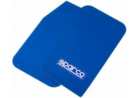 Sparco Universal mud flaps 'Large' - Blue