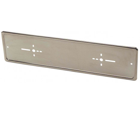 Chrome Number plate holder, per piece