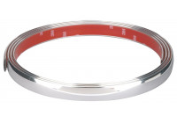 Chrome Trim Flat 21mm x 2.45mtr 3M Tape