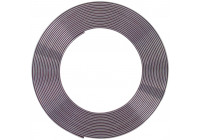 Chrome Trim strip Flat 21x3mm 5mtr 3M Tape