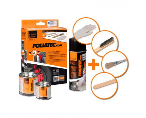 Foliatec Caliper paint set - GT blue - 3 components, Image 2