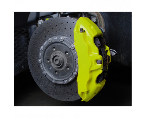 Foliatec Caliper paint set - NEON yellow - 4 components, Image 8
