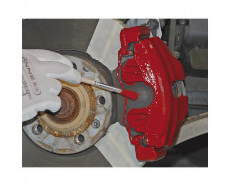 Foliatec Caliper paint set - racing rosso - 3 components, Image 7