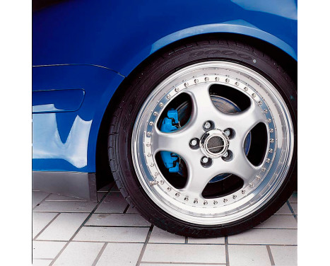 MHW Avus Brake Caliper Kit Blue (RAL 5017), Image 3