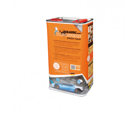 Foliatec Car Body Spray Film - urban silver metallic mat 1x5 litre bus