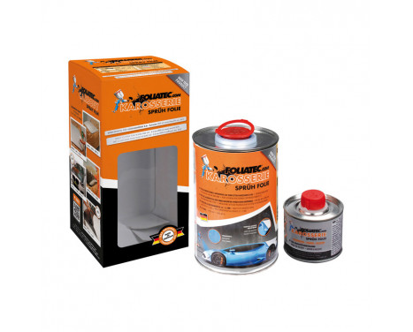 Foliatec Car Body Spray Film - white glossy 1x900ml + 100ml thinner