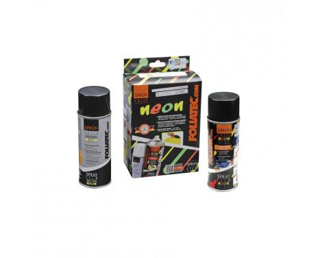Foliatec Spray Film (Spray Foil) NEON 2-Piece Set - blue 1x400ml + base layer 1x400ml