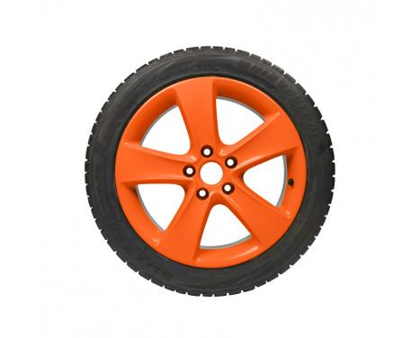 Foliatec Spray Film (Spray Foil) NEON 4-piece Set - orange 2x400ml + base coat 2x400ml, Image 4